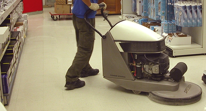 Industrial & Commercial Floor Cleaning